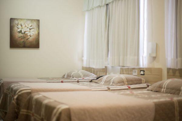 Hotel Trevo Cascavel quartos standarts e luxo