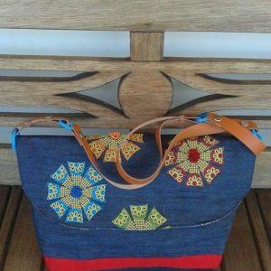 05 - bolsa de lona bordada