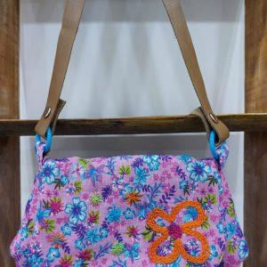 09 - Bolsa de Chitao Rosa e azul