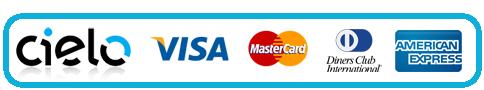 Logotipos de meios de pagamento do Lojampe